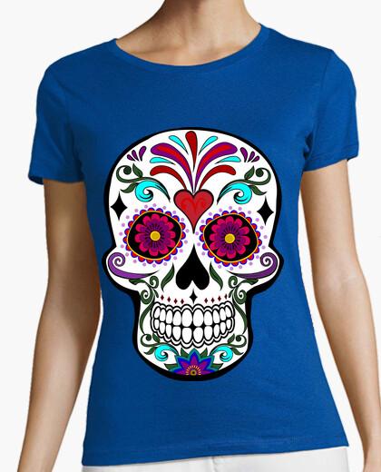 Tee-shirt cooltee calaca crâne. latoster