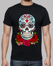 cooltee calavera calaca with roses. toaster