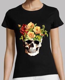 cooltee crâne floral. disponible uniquement en latostadora