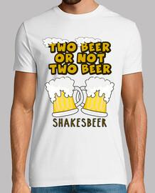 cooltee deux bières ou not à la bière. disponible uniquement en latostadora