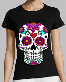 cooltee floral skull. only available in a trowel