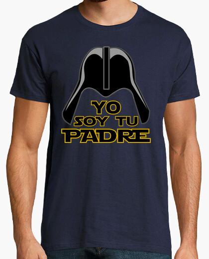 Tee-shirt cooltee je suis ton père. disponible uniquement en latostadora