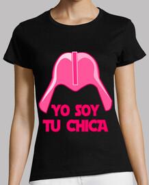 Cooltee YO SOY TU CHICA . Solo disponible en latostadora