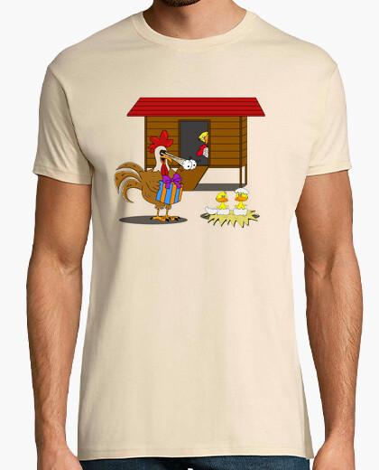 Tee-shirt coq cocu