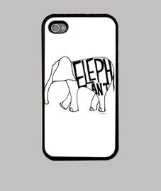coque éléphant iphone4