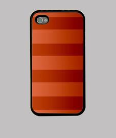 coque iphone 4, couleurs orange