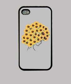 Coque iPhone 4, noire