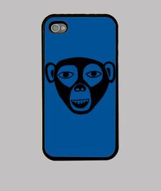 Coque iPhone 4, noire singe