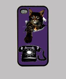 Coque iPhone 4, violet