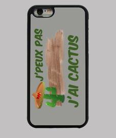 Coque Iphone 6/6S  J'peux pas j'ai cactus