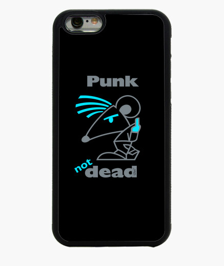 Coque Iphone 6 / 6S PunkBleuDeco by Stef