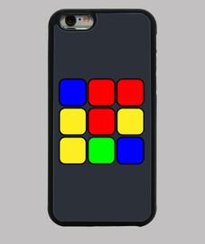 coque iphone 6, cube magique