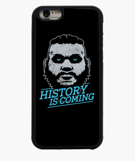 Coque Iphone 6 Coque iPhone 6 noire History is coming