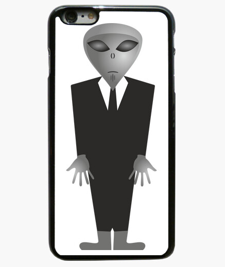 Coque Iphone 6 Plus / 6S Plus Extraterrestre Gris
