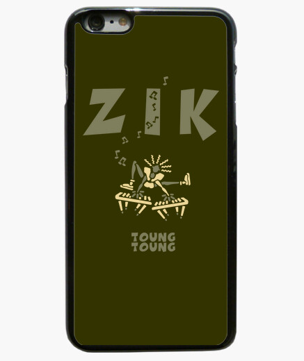 Coque Iphone 6 Plus / 6S Plus ZikClavierArmyClair by Stef