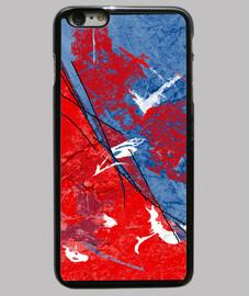Coque iPhone 6 Plus design art abstrait