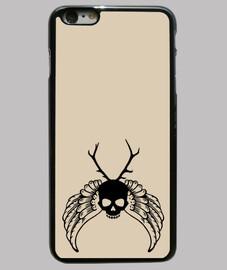 Coque iPhone 6 plus, noire