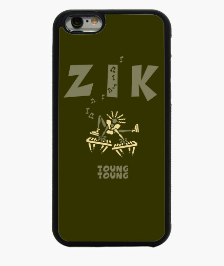 Coque Iphone 6 ZikClavierArmyClair by Stef