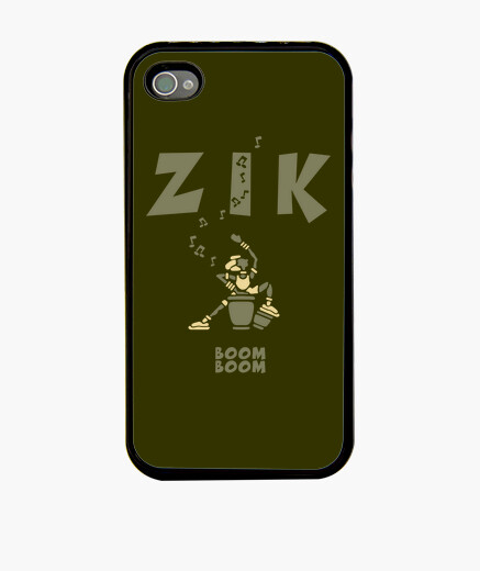 Coque iPhone Coque ZikKongaArmyClair by Stef