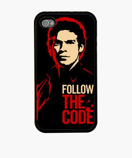 Coque iPhone Dexter: Follow the Code