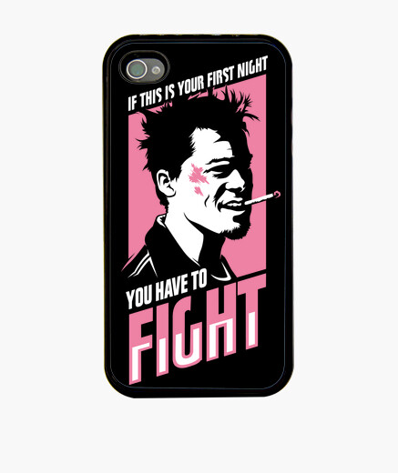 Coque iPhone Fight Club: You Have to Fight