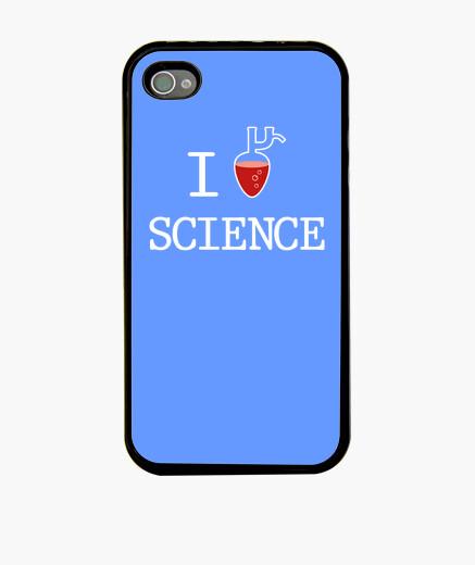 Coque iPhone J'aime la Science