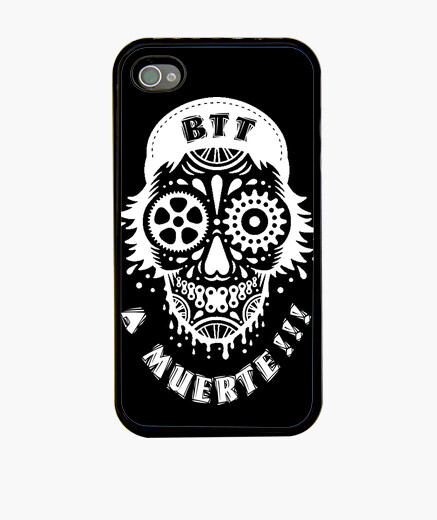 Coque iPhone la mort blanc iphone