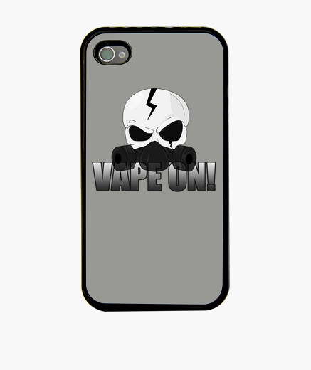 Coque iPhone Skull Vape On !