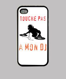 Coque iPhone touche pas a mon DJ !
