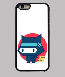 coque ninja cat pour iphone 6