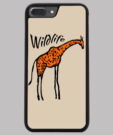 Coque smartphone girafe wildlife