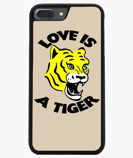 Coque Iphone 7 Plus / 8 Plus Coque smartphone Love Tiger amour tigre