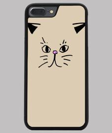 Coque smartphone motif chat mignon