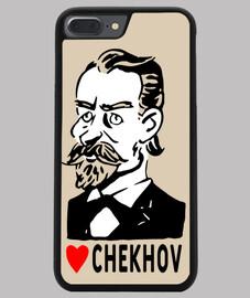 Coque smartphone portrait Chekhov