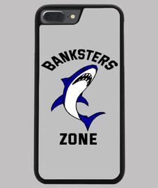 Coque smartphone requin banksters