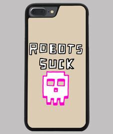 Coque smartphone Robots suck
