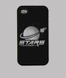 coque space explorers iphone
