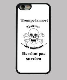 coque Trompe la mort «rieur» Test animal FC