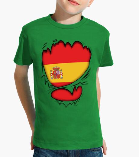 Ropa infantil Corazón Español