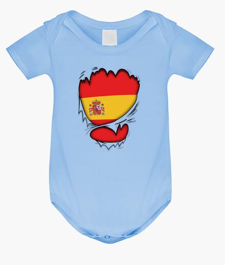 Ropa infantil Corazón Español Bebé