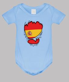 Corazón Español Bebé