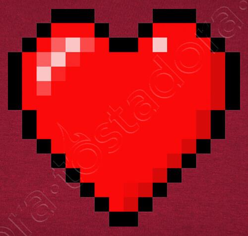 Minecraft Heart Woman T Shirt Tostadoracom