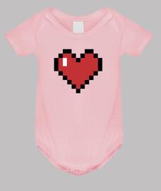 Corazón 8bits Bebe