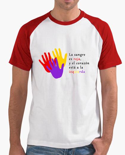 Camiseta Corazón a la Izquierda - Mangas chico