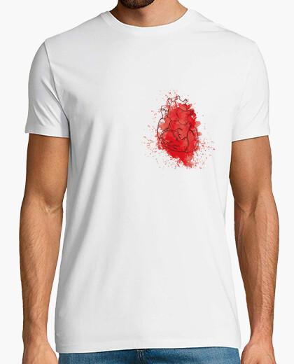 Camiseta Corazón acuarela - chico