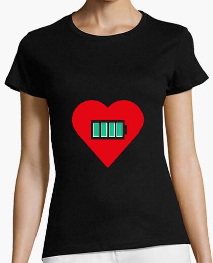 Camiseta Corazon cargado