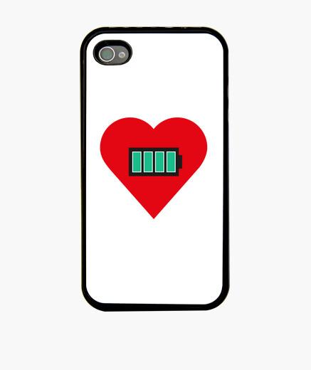 Funda iPhone Corazon cargado