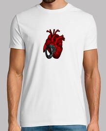 corazón chapado