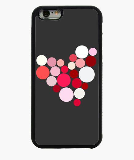 Funda iPhone 6 / 6S Corazón de colores