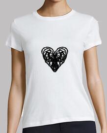 Corazón de garabato - Love me
